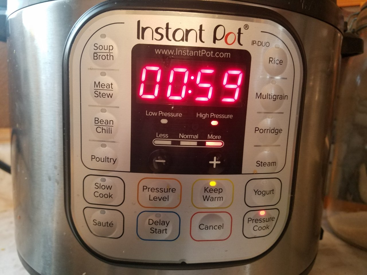 1 hour instant pot infusion