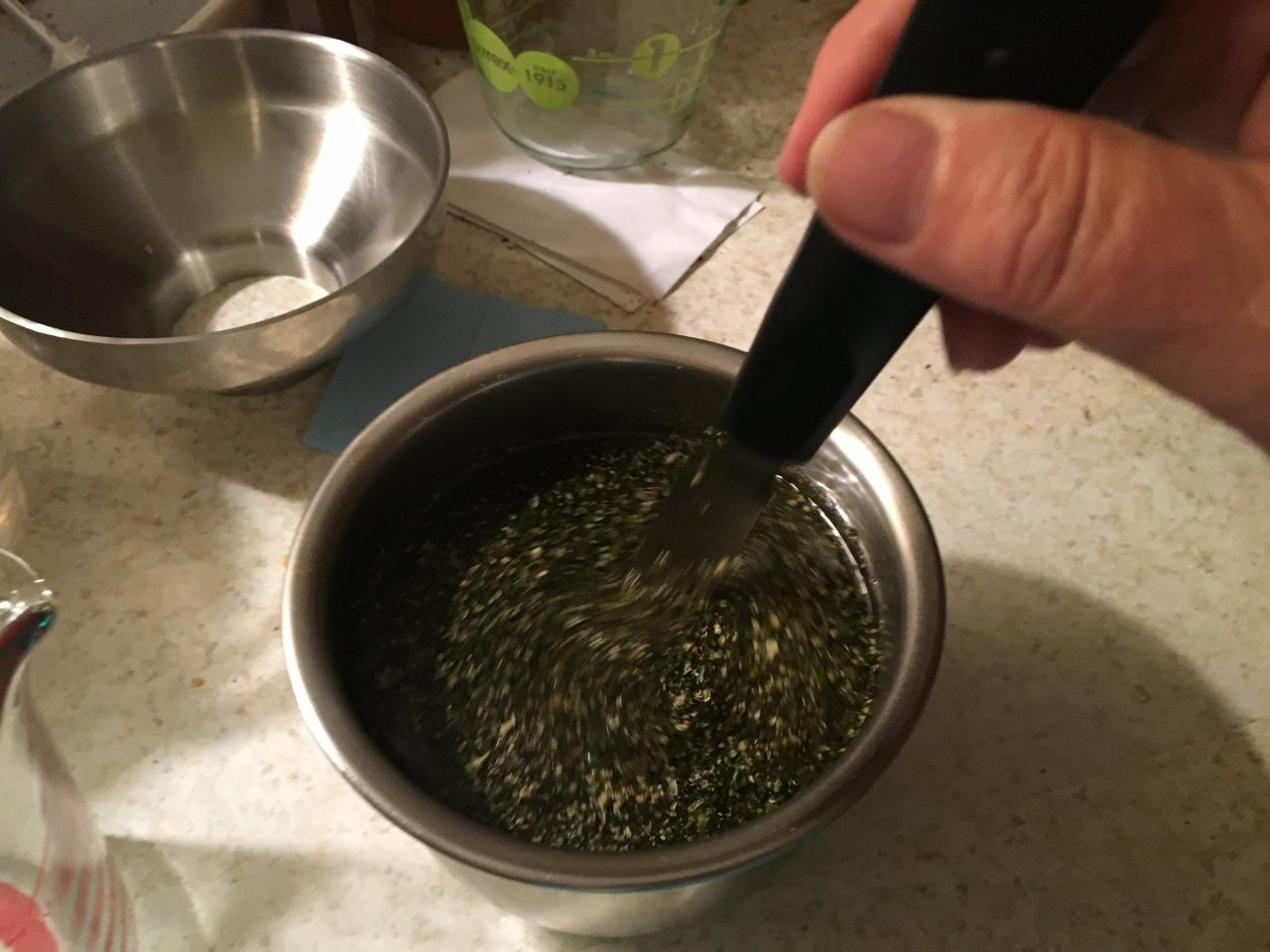 Basic infused cannabis oil