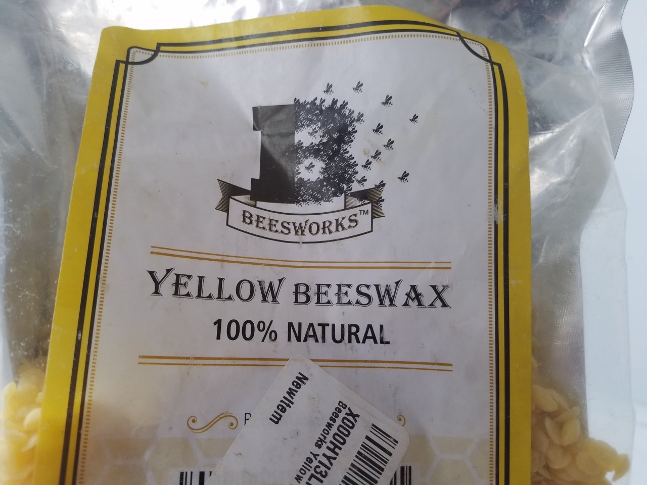 Beeswax pellets