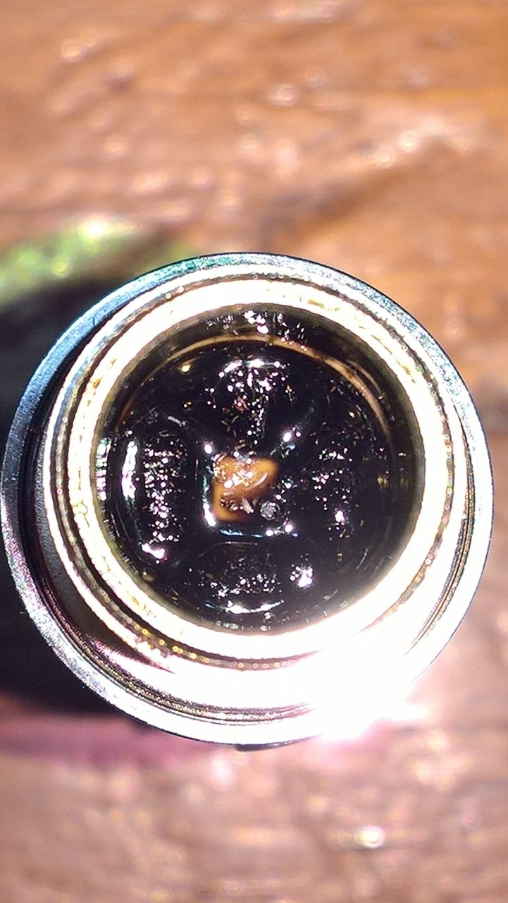 Coils covered in Rosin- an even coating.