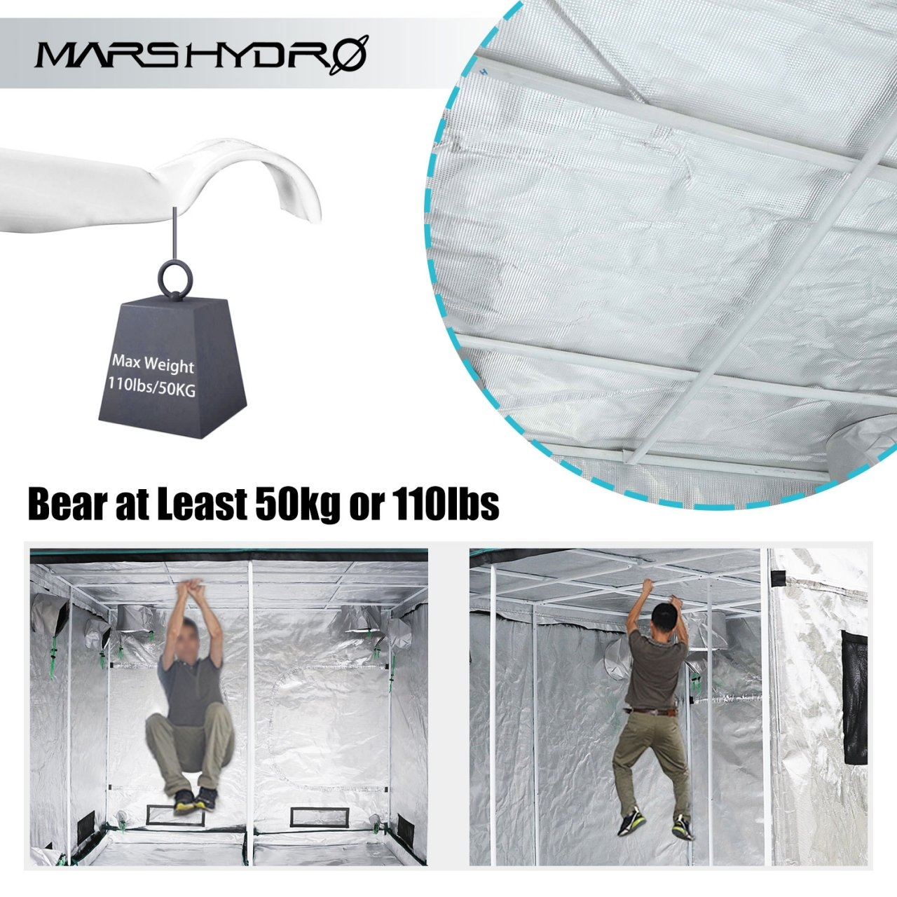 grow tent 100x100x180 - Mars Hydro 6 weight bearing.jpg