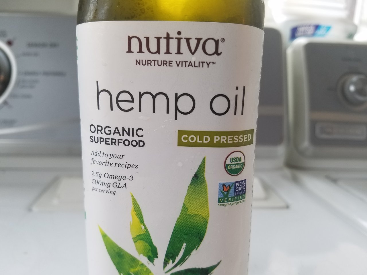 Hemp oil for salve