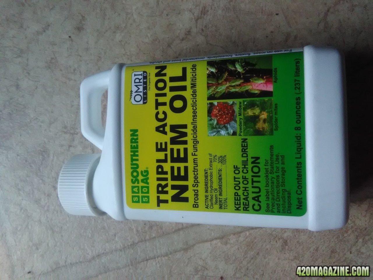 Neem Oil 420 Magazine