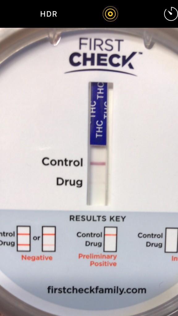 Faint Line Drug Test