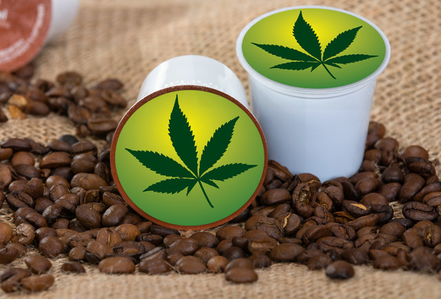 Image result for marijuana coffee