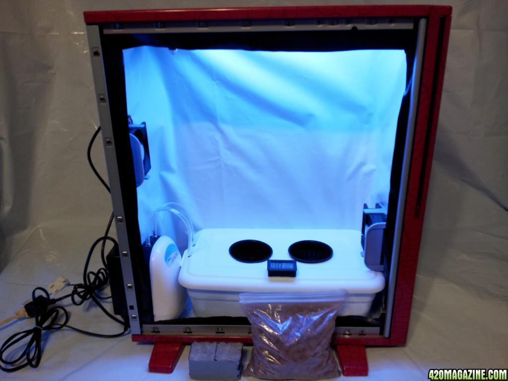 Stealth Hydroponic Cold Cathode Pc Grow Box