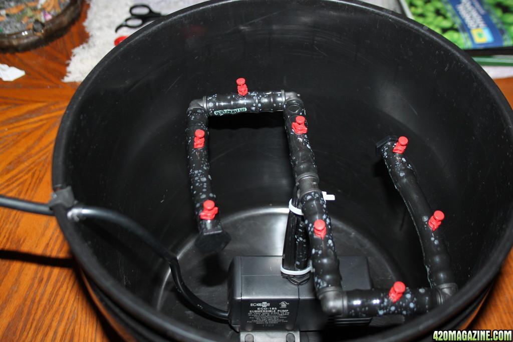5 Gallon Bucket Cheap Cloner Diy