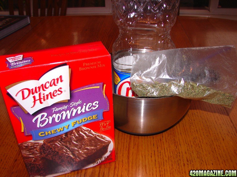 how to make cannabutter for brownies