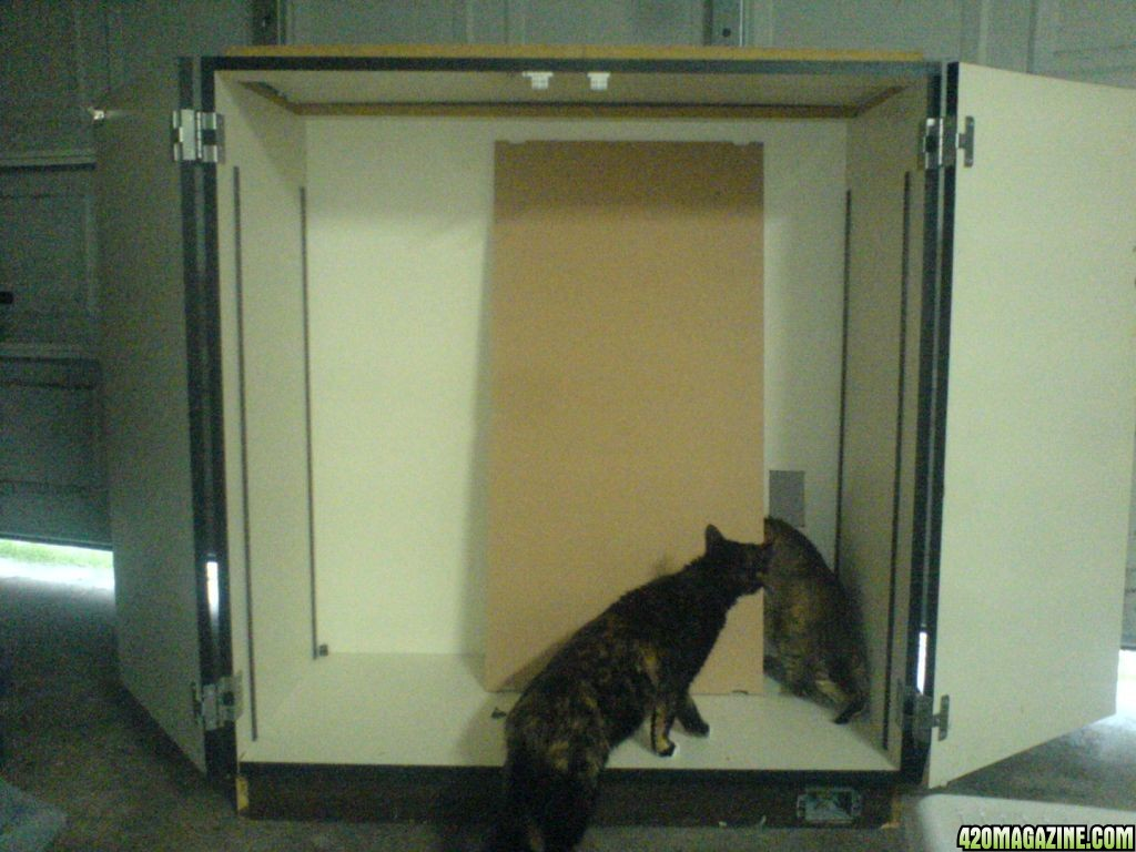 how to build a grow cabinet