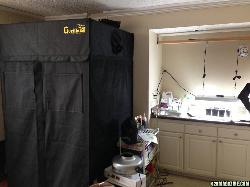 how to create a stealth grow room