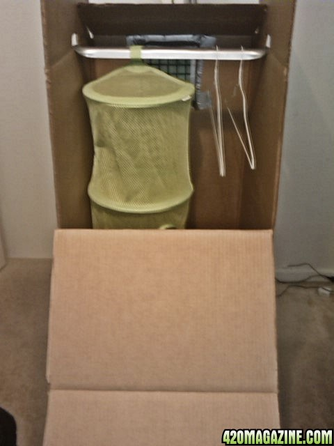 DIY drying box with odor control