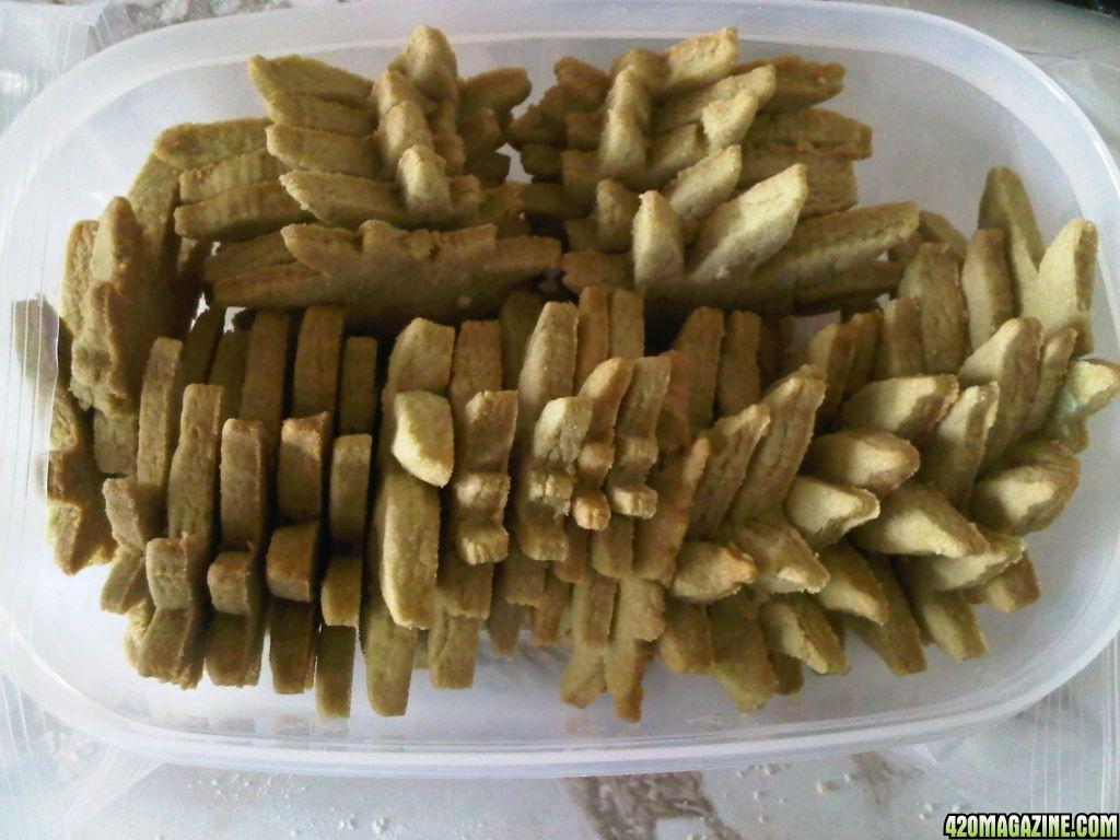Weed in cookies recipe
