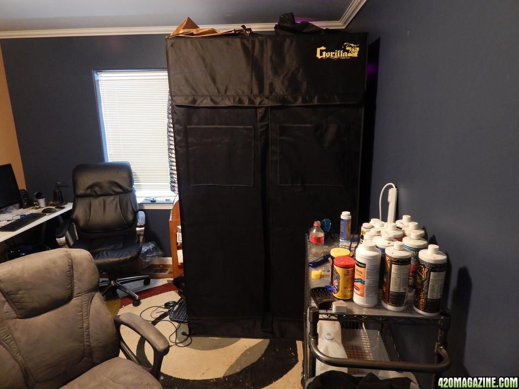 Crawdaddy S 4 X4 Grow Tents W Mars Ii 240x5w Led 420