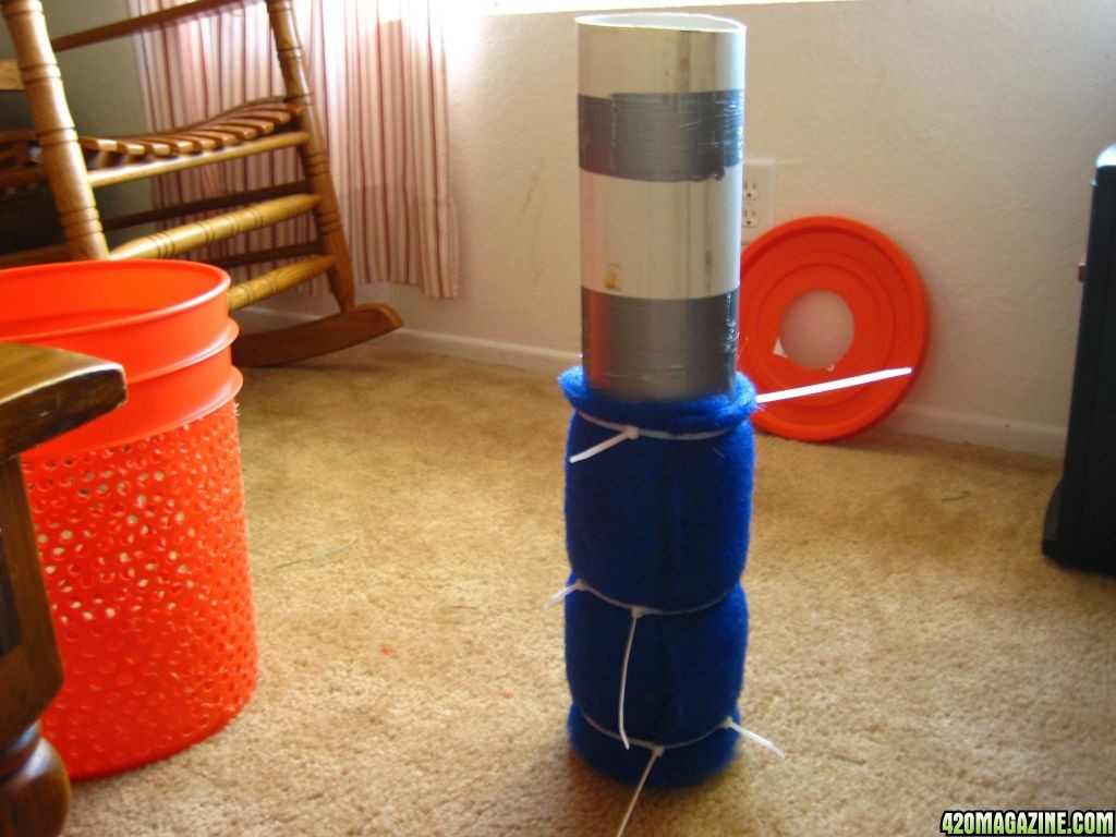 Pvc Air Cleaner : Tutorial diy gallon carbon air filter tutorials