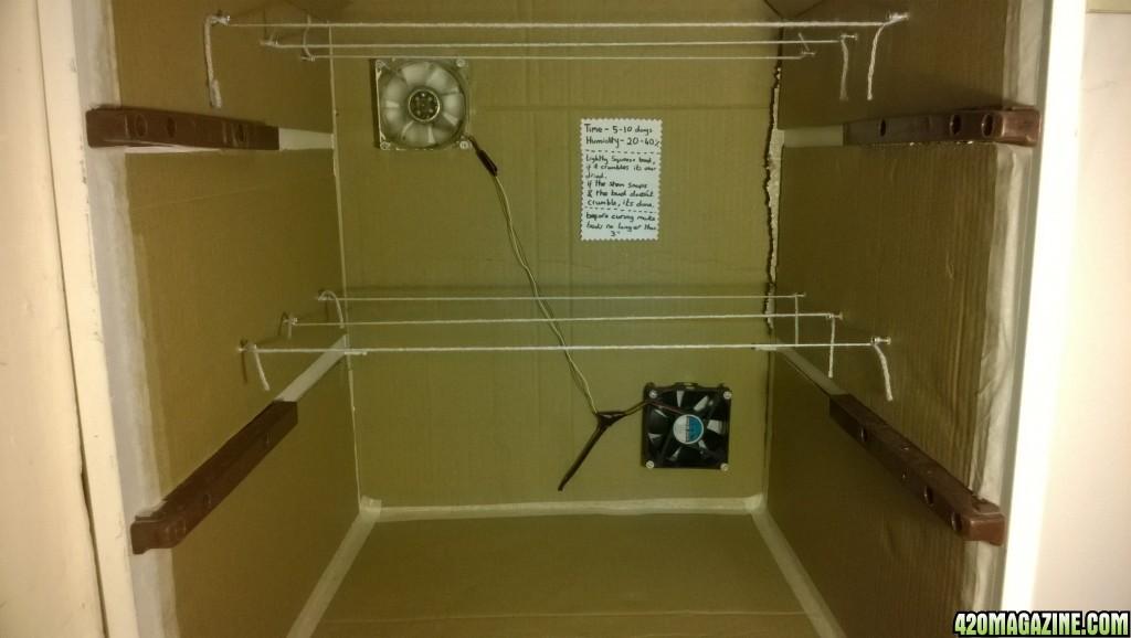 DIY Drying Box
