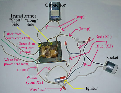 faqfix2 how to build your own ballast for under $100 70 watt metal halide ballast wiring diagram at n-0.co