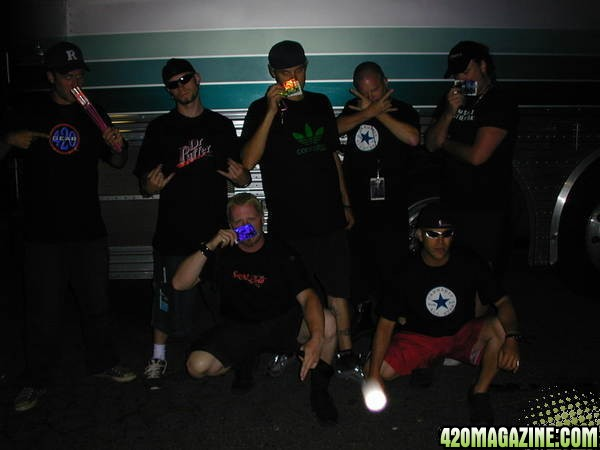 Mushroomhead in 420 Gear without Masks