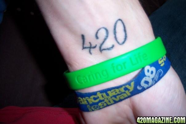 420 Tattoos