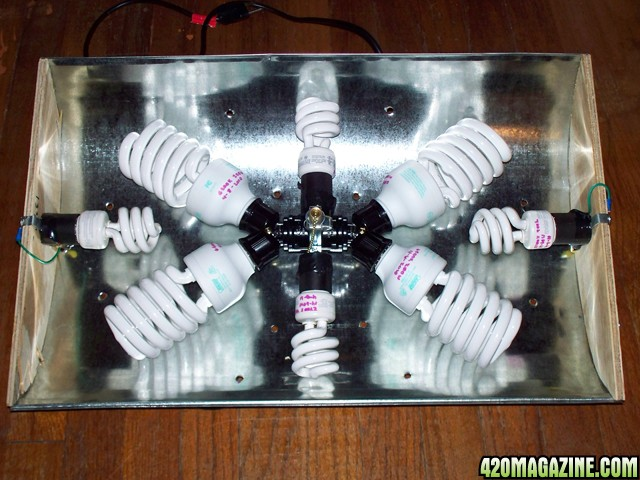 Diy Cfl Reflector How To Simple Cheap Amp Effective