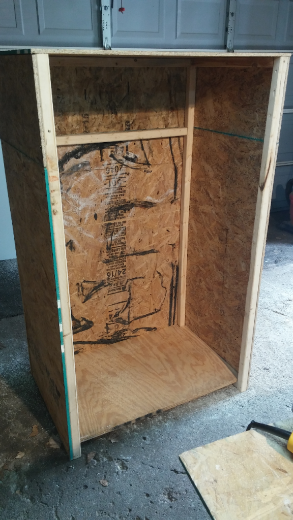 DIY grow cabinet - First grow