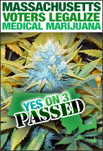 Massachusetts Medical Marijuana Legalized